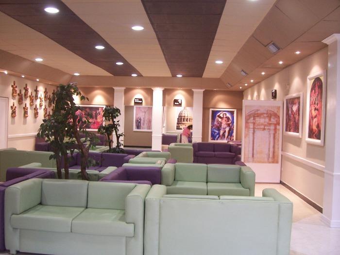 San Nicolás de los Garza N.L. Funeral Home – Livingroom